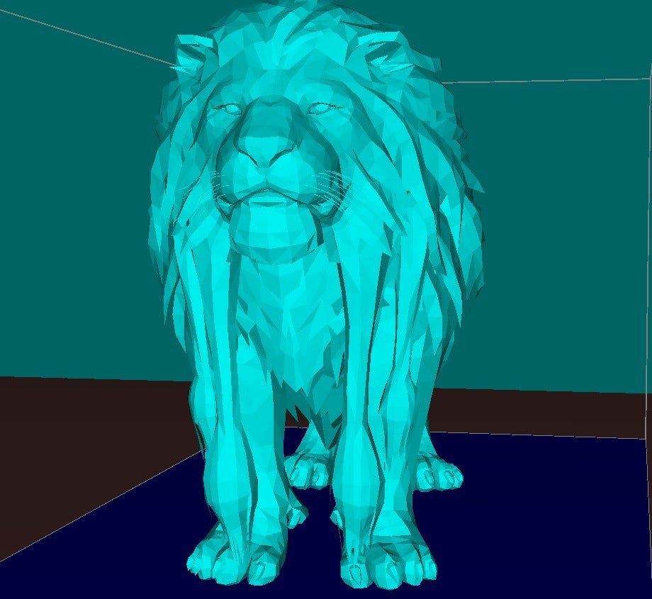 d15b8684541c6a54f57ce307d535a312_display_large.jpg Download free STL file Lion, king of the animals • 3D printable model, Boris3dStudio