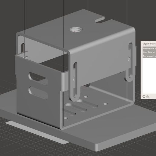 a0d0f59e5de6bc288b0e0e9f996dc309_display_large.JPG Download free STL file Original Support of the Wanhao Duplicator 7 • 3D print model, omni-moulage