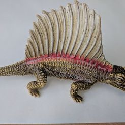 a2af4921e2456397727feab91eb4e901_display_large.jpg Download free STL file Dimetrodon Dinosaur • Template to 3D print, sjpiper145