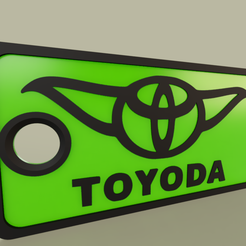 StarWars_-_YODA_-_Toyoda_2019-May-16_05-47-16PM-000_CustomizedView15961531806.png Download free STL file StarWars - YODA - Toyoda - Keychain • 3D printing design, yb__magiic