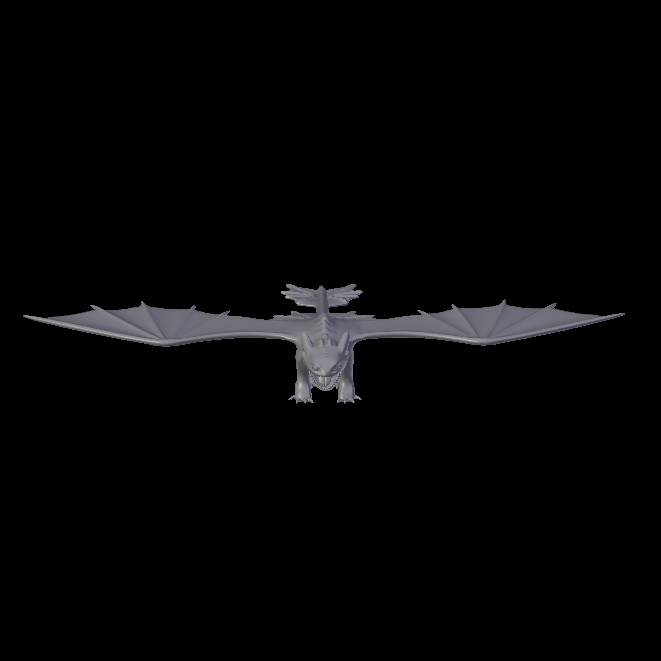 Toothless(2).png Download STL file Toothless (Night fury)  • 3D print template, jonathanworkevans