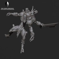 MMF_Raider01.png Download STL file Monstrosity Raider 01 - Cursed Elves • 3D printing object, edgeminiatures