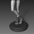 tifa7.jpg Download STL file Tifa Lockhart Final Fantasy VII Fanart Statue 3d Printable • 3D print template, Gregorius_Pambudi