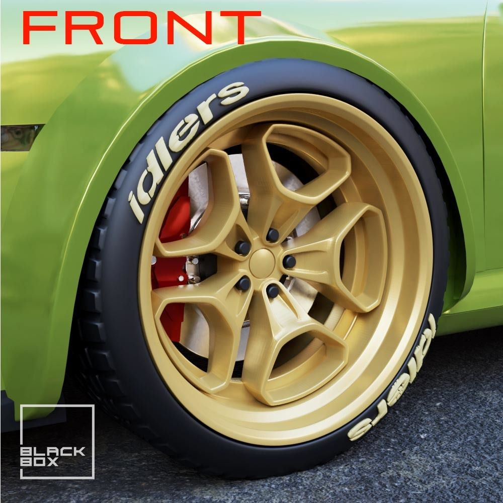 a2.jpg Download STL file RWB HHR Style Wheels: Front and Rear Set • 3D print template, BlackBox