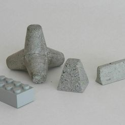 emplacement_scale.jpg Download free STL file Concrete obstacles • 3D printer model, Steyrc