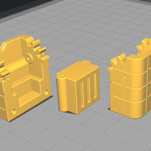 arrangement.png Download STL file Micro geared cases: for micro SD cards and other tiny objects • Object to 3D print, KaziToad