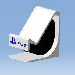 1.png Download STL file DualSense PS5 Stand - DualSense controller stand • Design to 3D print, DRE-3D-FREPS-DESIGN