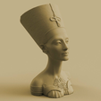 Queen_1.png Download free STL file Queen of Egypt Bust Flower Pot • 3D printer object, SylvanKnight