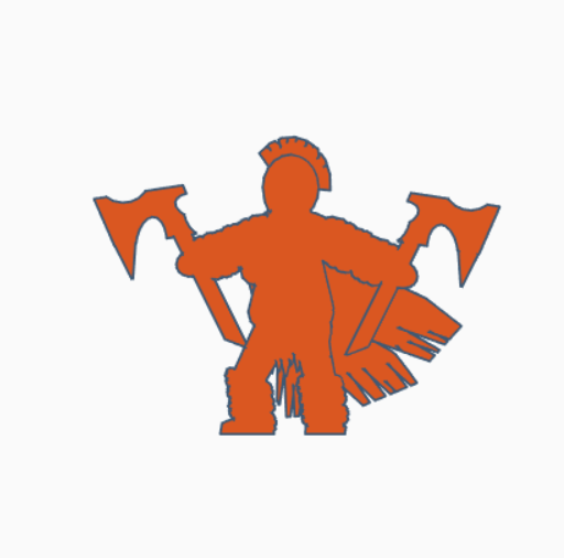 Double Axe Barbarian.png Download STL file Double Axe Barbarian • 3D printer model, Ellie_Valkyrie