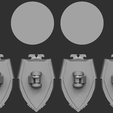 BR-Back.png Download STL file Bloody Magpies Chapter Heraldry and Storm Shields • 3D printing model, AmrisMeneldir