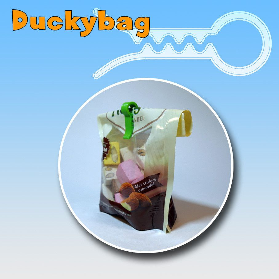 Duckybag05.jpg Download STL file Duckybag clip • Template to 3D print, 3designplanet