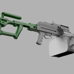 _2021-Jan-06_09-23-40AM-000_CustomizedView8420831681.png Download STL file Airsoft PKM Tactical stock • Design to 3D print, azgiliath