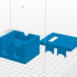 Sensor.PNG Download STL file Ultrasonic Sensor Case • 3D printable object, Buildshapes