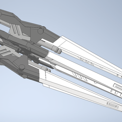 Capturar.PNG Download STL file DREI ZWERG Intensify Weapon for Bandai MG 1/100 Gundam Wing Custom or W01 • 3D printable object, chelseaCh
