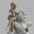 Annotation 2020-09-03 174146.png Download STL file Chirai and Broly  • Model to 3D print, DBZmodel
