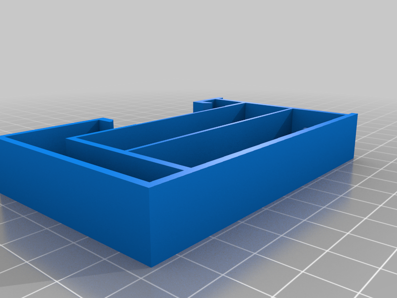 QX7_adaptator.png Download free STL file 18650 LI ION CASE for QX7 with BMS (OPTIONAL) • 3D print object, Rhizamax