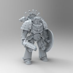 untitled.34.jpg Download free STL file Poseable Primaris Bladeguards Space Wolves • 3D printable design, KrackendoorStudios