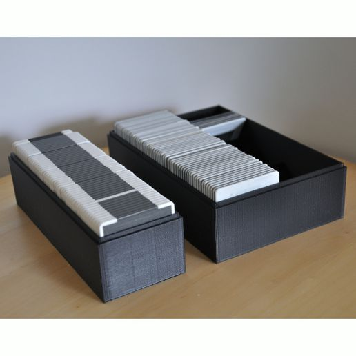 Dia_06.JPG Download STL file Boxes to store slides,Dias • Template to 3D print, meteoGRID