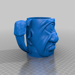 cyclops_beer_holder_finger_hole.png Download free STL file Cyclops beer can holder • 3D printing design, bigj121