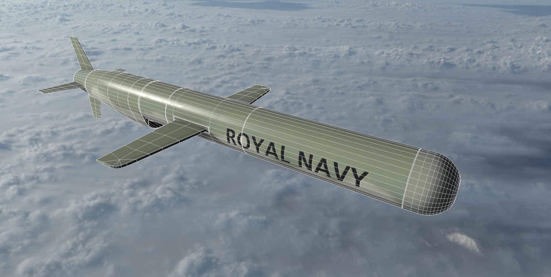 00a.png Download 3DS file Tomahawk Missile • Template to 3D print, SimonTGriffiths