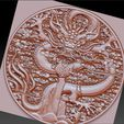 dragonfullofclouds5.jpg Download free STL file dragon on clouds • 3D print template, stlfilesfree