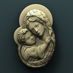 426. Virgin Mary.jpg Download free STL file Virgin Mary • Model to 3D print, stl3dmodel