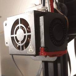 Capture d'écran 2018-05-02 à 14.26.05.png Download free STL file CR-10S, OEM Fan, Offset Nozzle with Clip Clearance • 3D print object, johnmcwgeo
