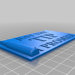 Just_the_tip.png Download free STL file Just the tip • 3D print model, babjazz