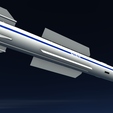 08.png Download 3DS file Vympel R37 Missile • Model to 3D print, SimonTGriffiths