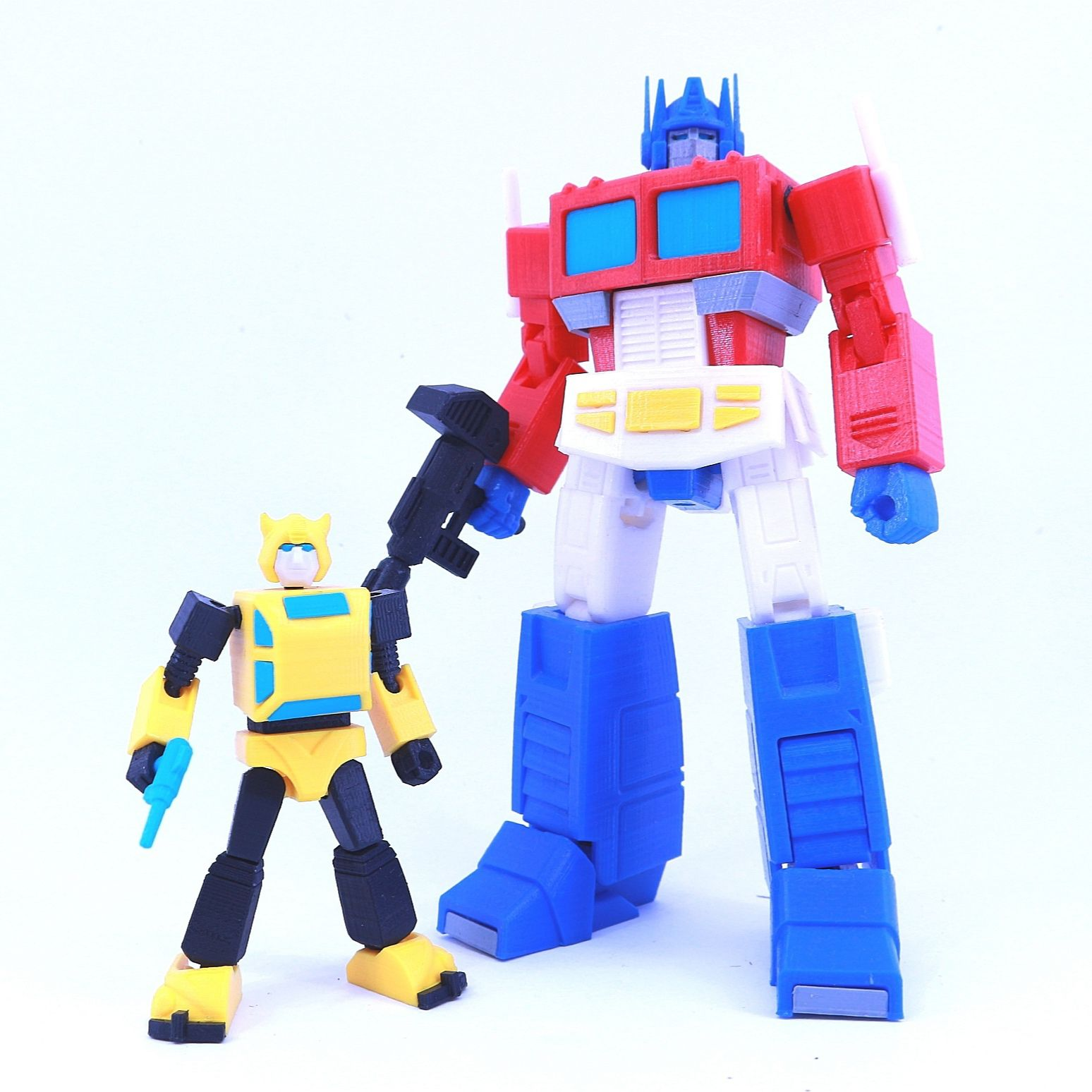 bee6.jpg Download free STL file ARTICULATED G1 TRANSFORMERS BUMBLEBEE - NO SUPPORT • 3D print template, Toymakr3D
