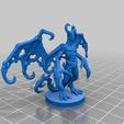 Night_Gaunt.png Download free STL file Night Gaunt • Design to 3D print, schlossbauer