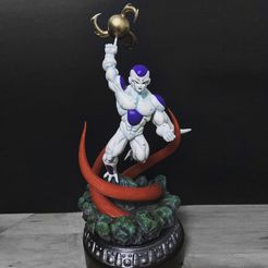 unnamed.jpg Télécharger fichier STL Super Frieza fighting from Dragon Ball Z 3D print model • Plan pour imprimante 3D, Bstar3Dart