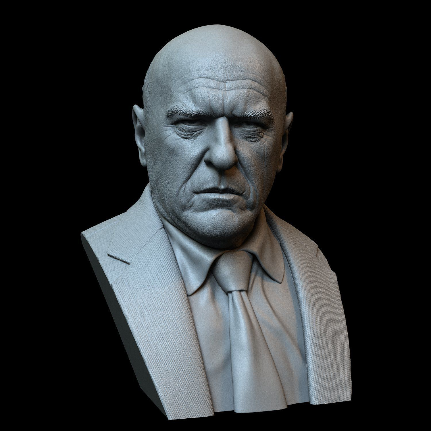 Hank01.RGB_color.jpg Download STL file Hank Schrader (Dean Norris) from Breaking Bad • Template to 3D print, sidnaique