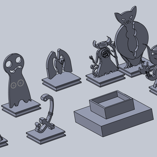 todos.png Download free STL file pathfinder minis (not base) • 3D printable object, izanferrco