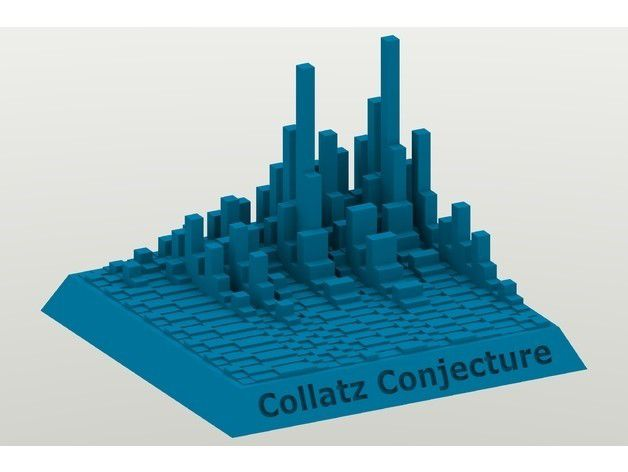 5ee95da16568fc2b5440a3777c247336_preview_featured.jpg Download free STL file Collatz Conjecture Towers • 3D printable design, Chrisibub