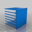 Cube_cage_bottom_1.png Download free STL file Cube cage collection 2 for tabletop games • 3D printing template, Boubamazing