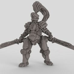 e325f9e5684aafe03d610188c7511a8d_display_large.jpg Download free STL file Robot Samurai • 3D printing template, duncanshadow