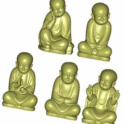little monk1.jpg Download free STL file little monk  • 3D print object, stlfilesfree