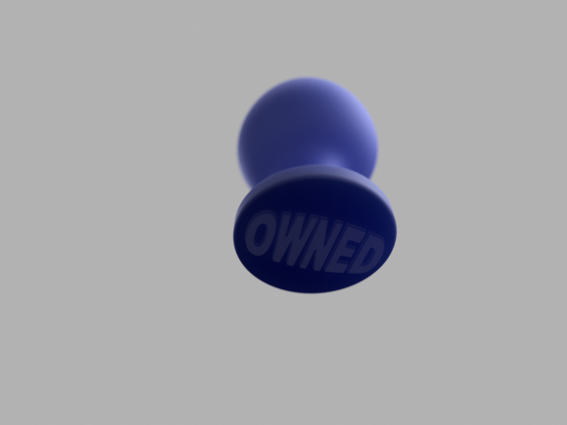 OWNED-ButtPlug-40mm_2016-Sep-15.png Download STL file Butt Plug with the words OWNED embossed on the back • 3D printing object, Boris-van-Galvin