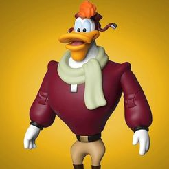 Untitled.png Download free STL file Launchpad McQuack ! • Template to 3D print, RyanTheMast