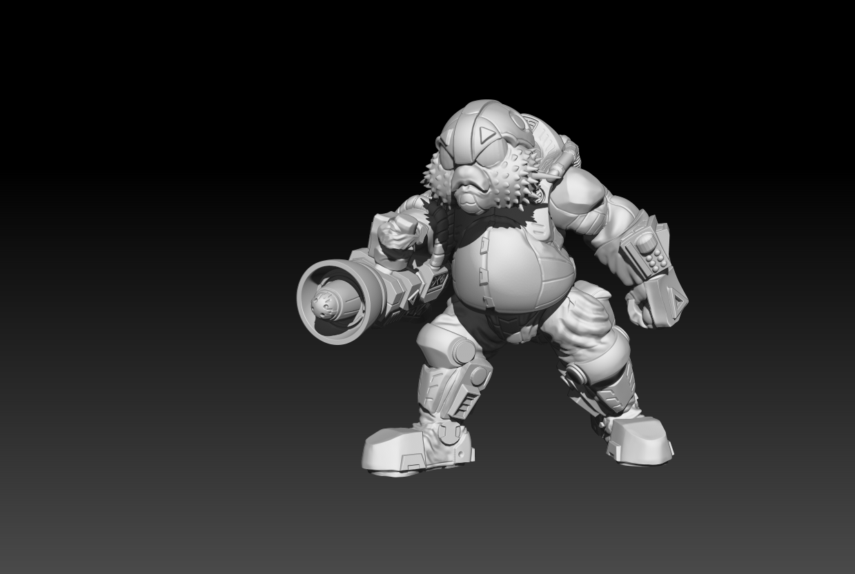 Preview3_3.png Download STL file The Shoal - Heavy Brawlers • 3D printable design, El_Mutanto