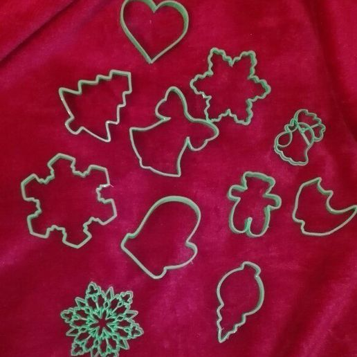 9eUdgPQ-Nbw.jpg Download STL file Christmas tree cookie cutter • 3D print object, arkcol