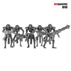 A1.jpg Download STL file Immortal Robots from the Tomb World • 3D printing object, RedMakers