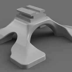 render.png Download free STL file Sony / Minolta flash foot. Flash stand • 3D printing template, corristo25