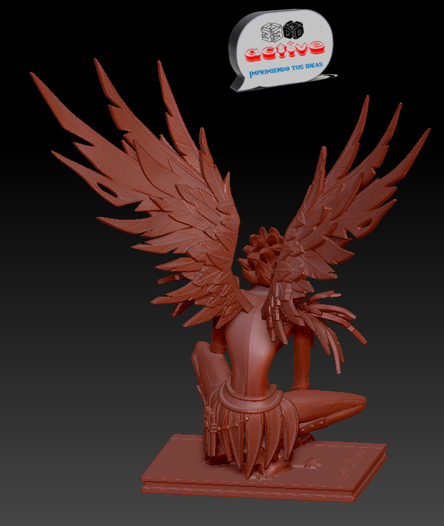 Death Note 6.PNG Download STL file Death Note - Ryuk • 3D print model, 3dactive