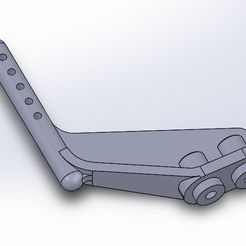 Support F40.JPG Download free STL file Tamiya Group C Rear Offset Rear Body Support. • 3D printer model, juleo68