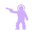 Astronaut Pistol.stl Download STL file Astronaut Meeple With Pistol • 3D printing template, Ellie_Valkyrie
