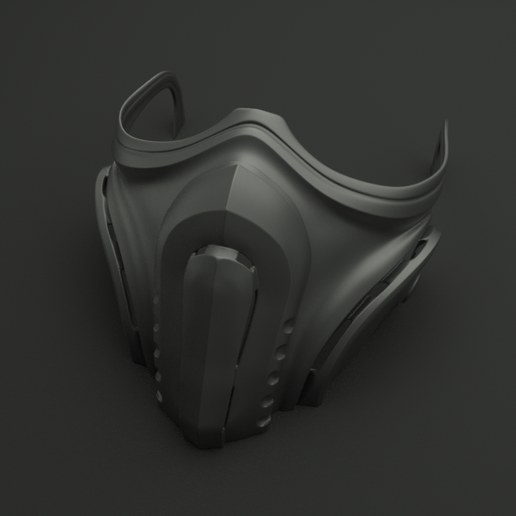 maszk_2020_v2covid_0001.png Download STL file Mask cover mask - COVID - type 2 • Template to 3D print, polygonface
