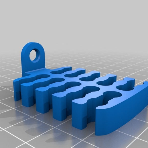 3d9c649599e8a0ce8cba8279b97fef31.png Download free STL file Ethernet Cable Runner - Screw Mount - 20 cables • 3D printable template, rssalerno