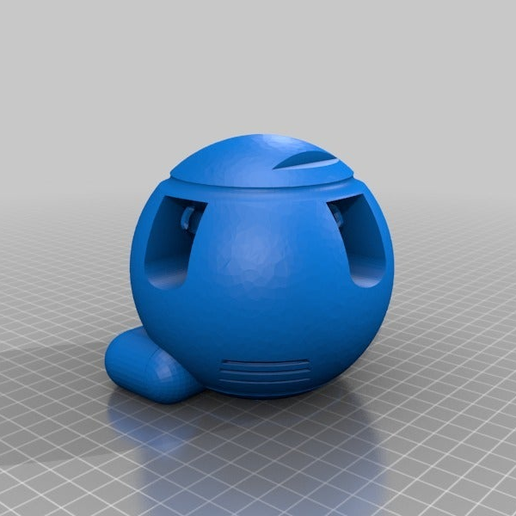 137856d05cb2eedf8d7f610d944f2014.png Download free STL file Mr. Handy (with guts) - Fallout 4 • 3D printing object, FreeBug